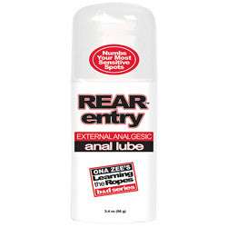 Rear Entry Desensitizing Anal Lube - SexToysEstore.com