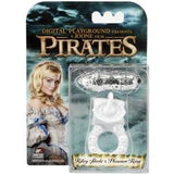 Pirates Riley Steele's Pleasure Couple's Cock Ring White - SexToysEstore.com - 2