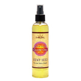 Earthly Body Massage Glow Oil 8 Oz - SexToysEstore.com - 1