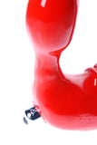 Tantus Feeldoe Double Ended Dildo closeup red