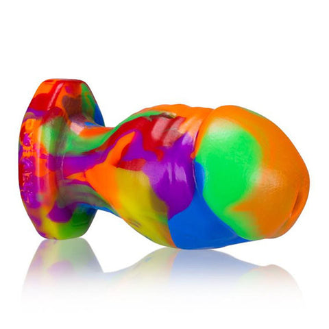 Honcho 2 Rainbow Dick Shaped Butt Plug