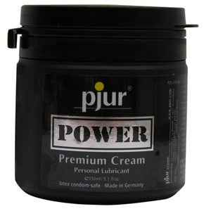 Pjur Power Cream Lubricant - 150 ml Tub - SexToysEstore.com