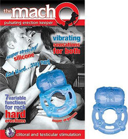 Macho Pulsating Erection Keeper Cock Ring