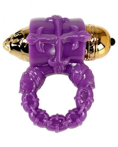 Pirates Stoya's Pleasure Couple's Cock Ring Purple - SexToysEstore.com