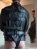 Stockroom Premium Leather Straitjacket rear