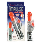 Impulse Jack Rabbit Vibe - Red - SexToysEstore.com