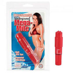 Mega Mite Red Waterproof - SexToysEstore.com