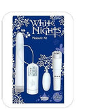 White Nights Pleasure Kit - 3 Vibrators - SexToysEstore.com - 2