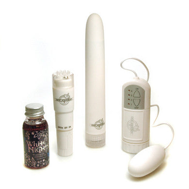 White Nights Pleasure Kit - 3 Vibrators - SexToysEstore.com - 1