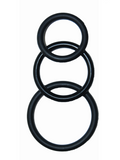 Super Silicone Cock Rings Waterproof - 3 Sizes - Black or Blue - SexToysEstore.com - 2