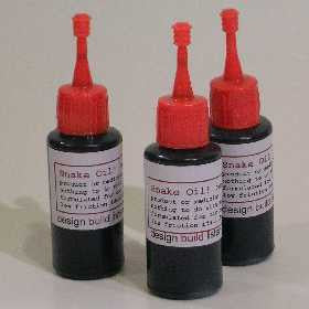 Snake Oil! Hi Performance turntable oil