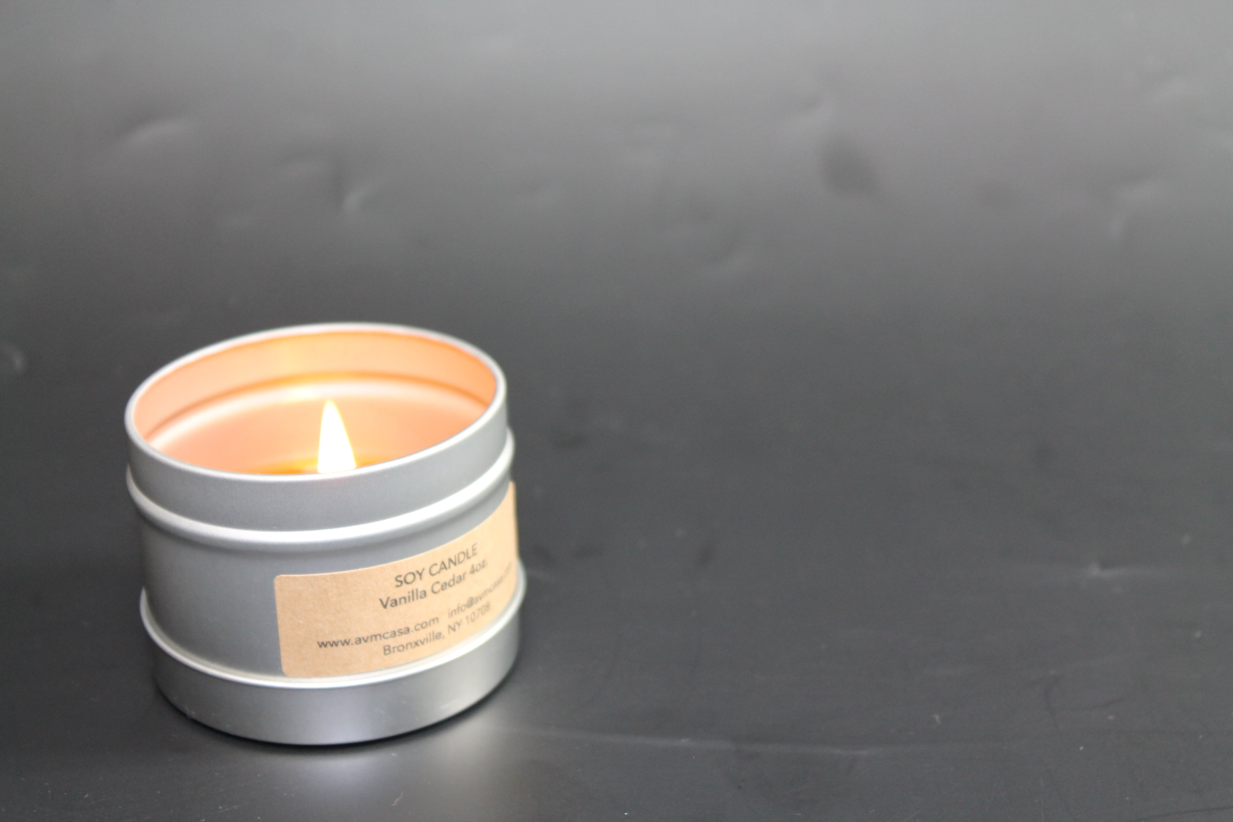 4 oz. Soy Travel Candle