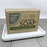 Lemon Poppy Seed Cold Pressed Soap