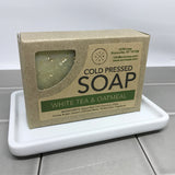 White Tea & Oatmeal Cold Pressed Soap
