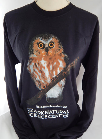 T-Shirt - Northern Saw-whet Owl