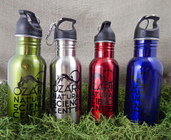 Drinkware - SS Water Bottle with mini-carbiner
