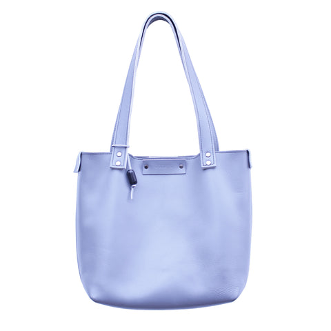 Audrey Tote in Gray Leather