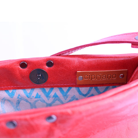 Aleks Crossbody in Red Leather - Limited Edition
