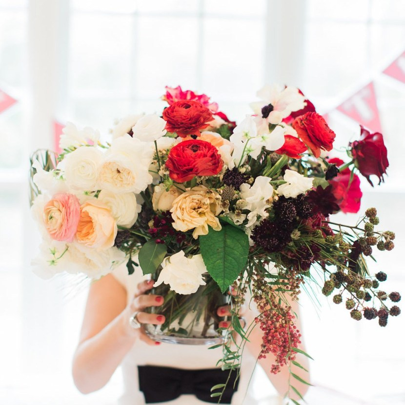 How To: FAUX REAL: CREATING THE PERFECT VALENTINE ARRANGEMENTS WITH REAL & FAUX FLOWERS WITH POTTERY BARN