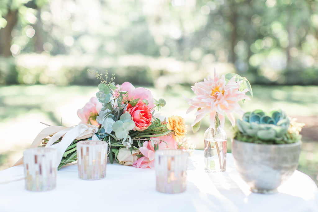 Featured: Pastel Wedding Inspiration in Savannah by Colonial House of Flowers, A Low Country Wedding, November 2015