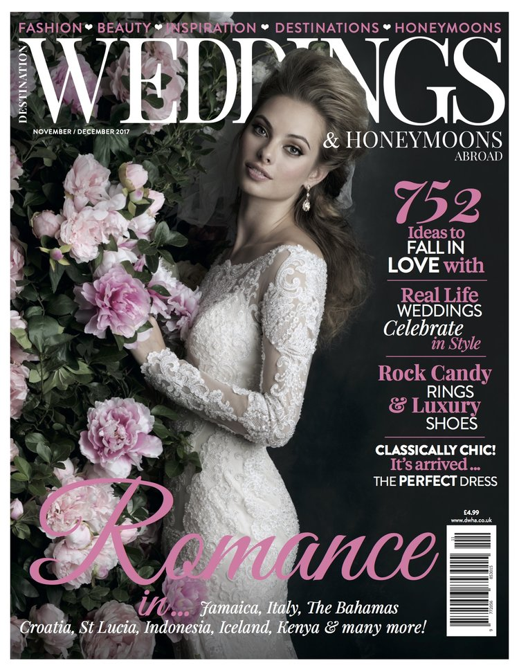 Featured: Destination Weddings and Honeymoon Magazine