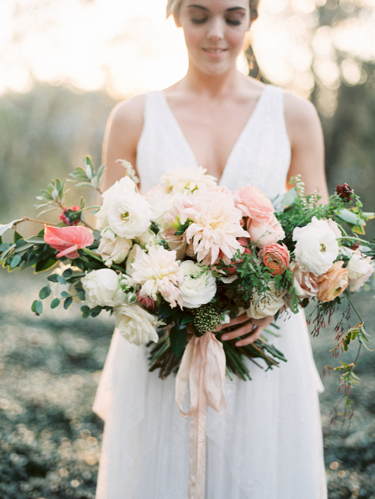 Featured: Blush Plantation Wedding Inspiration, Wedding Sparrow October 2016