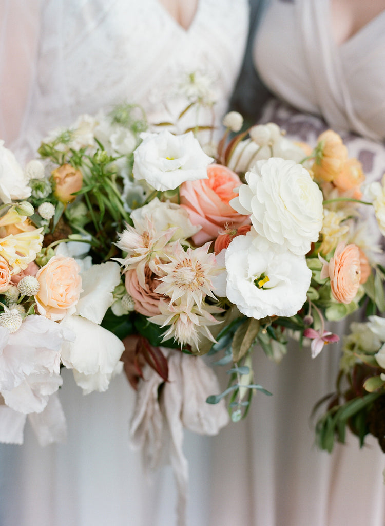 Neutrals, Olive Branches, Organic Florals and a Dreamy Pasture: These Flowers are for the Romantics at Heart