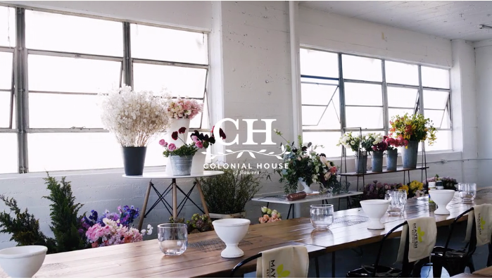 Mayesh Design Star Inaugural Flower Workshop Venmo Video | Los Angeles, California