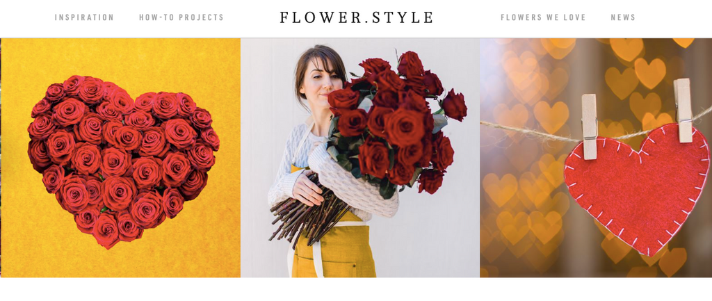 Featured:  With Predictions Down for Valentine's Day Spending, Shifting Categories May Mean It's Still Coming up Roses, Flower.Style Magazine