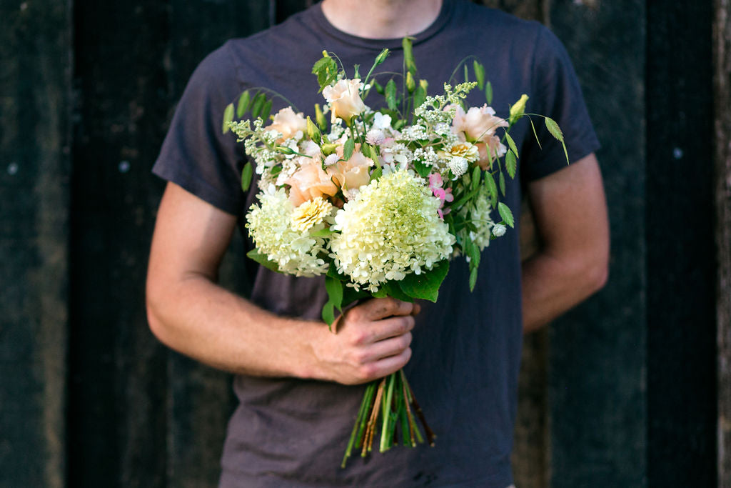 Farmer's Choice Flower Bouquet With Hydrangea, Phlox featured by Colonial House of Flowers