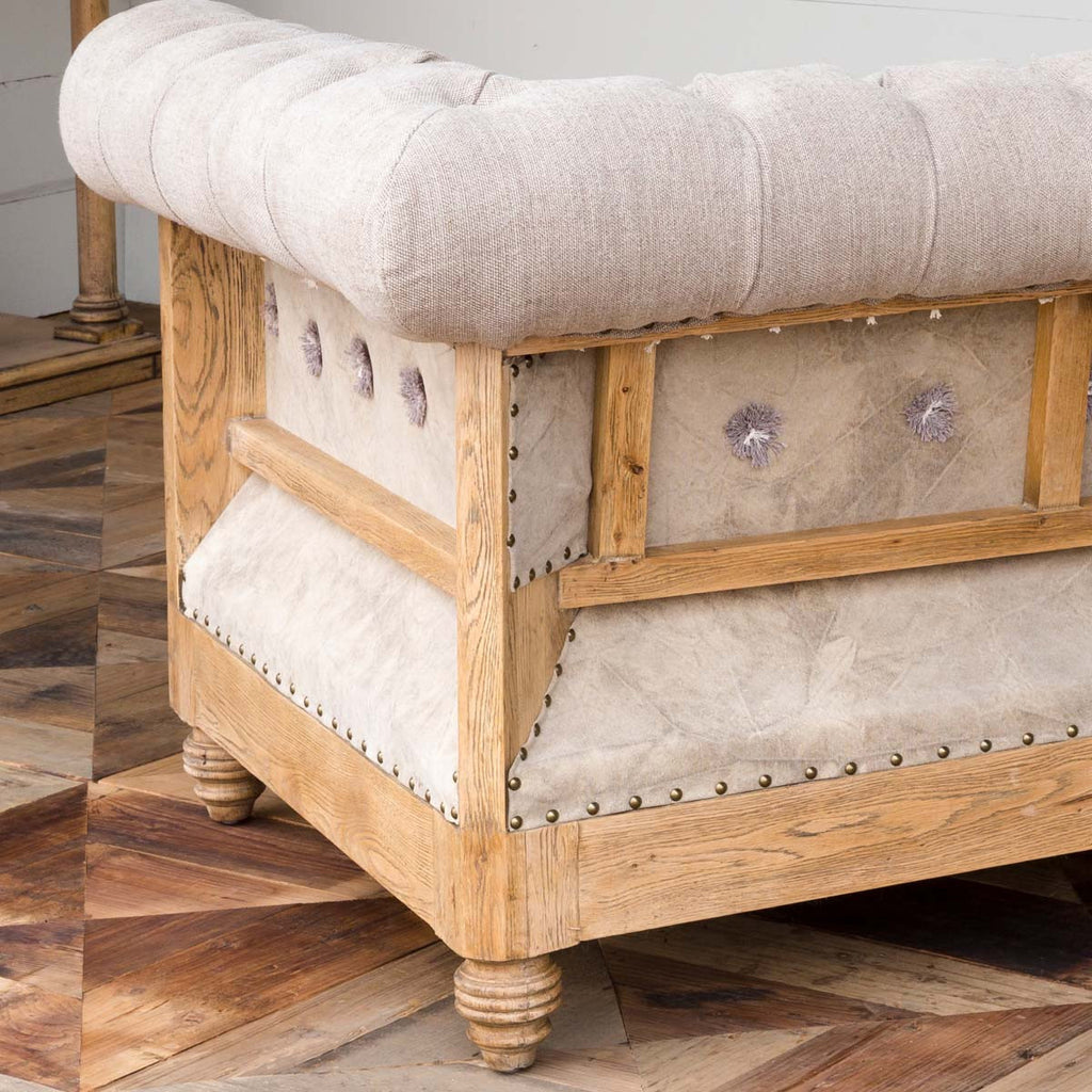 Colonial-House-of-flowers-home-garden-decor-urban-farmhouse-elegant-tufted-chair-with-brass-nailheads-by-park-hill-collection