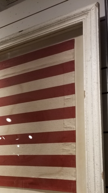 FRAMED-AMERICAN-RED-WHITE-BLUE-DISTRESSED-FLAG-WALL-ART-BY-COLONIAL-HOUSE-OF-FLOWERS-ATLANTA-GEORGIA