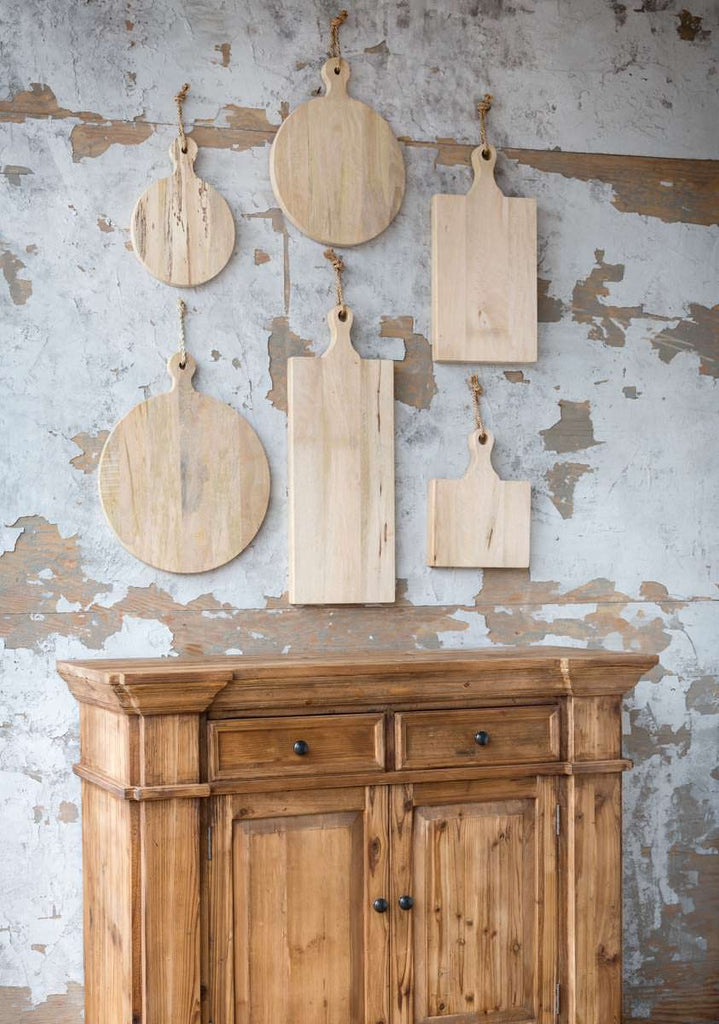 Round-Wood-Cutting-Board-Wall-Art-Decor-Colonial-House-of-Flowers