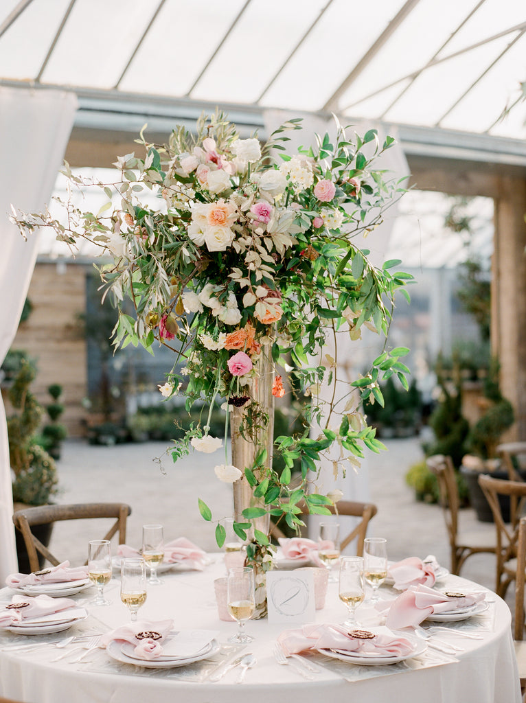 FORMAL TABLE SETTING DECOR IN NASHVILLE BY COLONIAL HOUSE OF FLOWERS