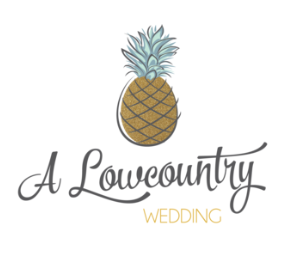 A Low Country Wedding Magazine Logo With Pineapple