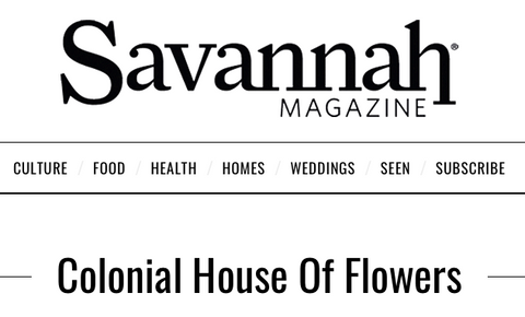 DIY Springtime Luxury Floral Arrangements by Colonial House of Flowers With Kate Spade With Savannah Magazine