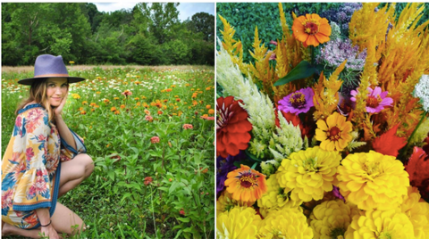 Flower Fields In Georgia A List By Colonial House of Flowers, Christy Hulsey