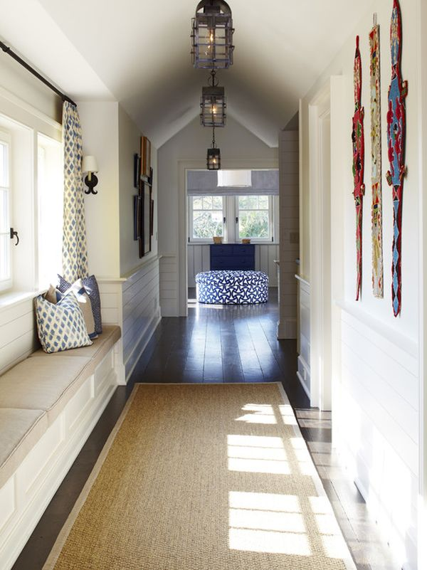 Creative Use Of Chair in Hallway Home Decor