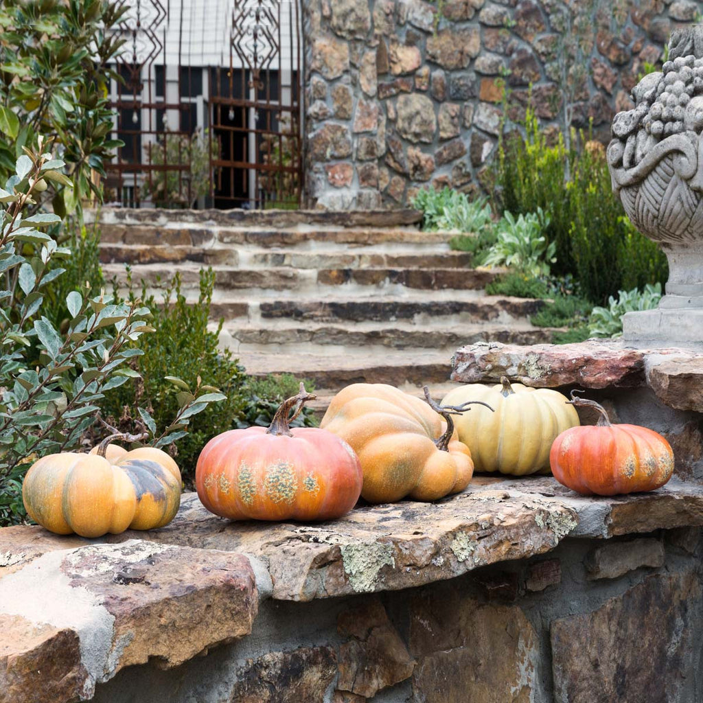 Pumpkin Fall Autumn Holiday Home & Garden Decor by Colonial House of Flowers in Atlanta, Georgia