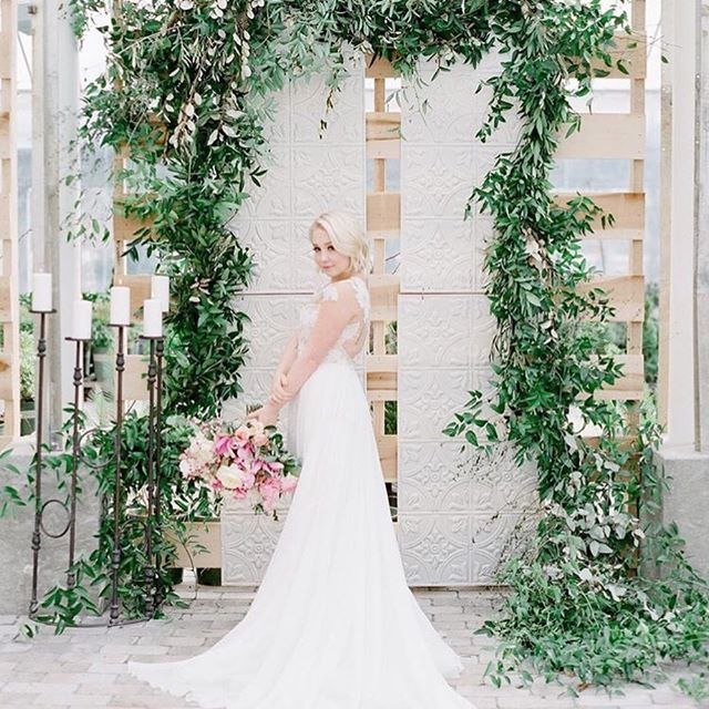 Country Music Super Star RaeLynn Wedding Flowers With Colonial House of Flowers (Atlanta, Georgia) at Long Hollow Gardens in Nashville Tennessee | Photography by Julie Paisley | Floral featuring pink white green peony rose ranunculus flowers