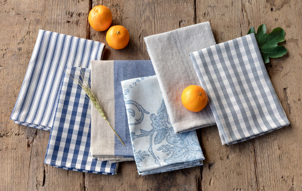 shop cloth linen table napkins at colonial house of flowers
