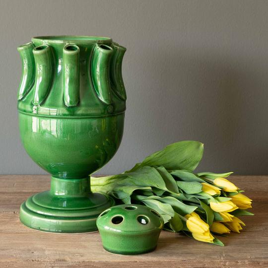 best stand alone vase for arranging tulips by colonial house of flowers