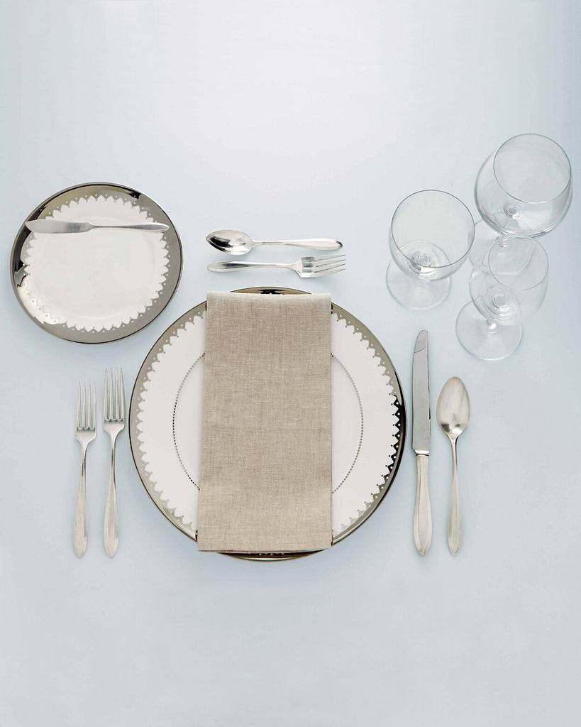 How To Set A Table By Colonial House of Flowers Photo by Martha Stewart