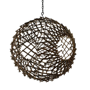 Newton Natural Twig Sphere