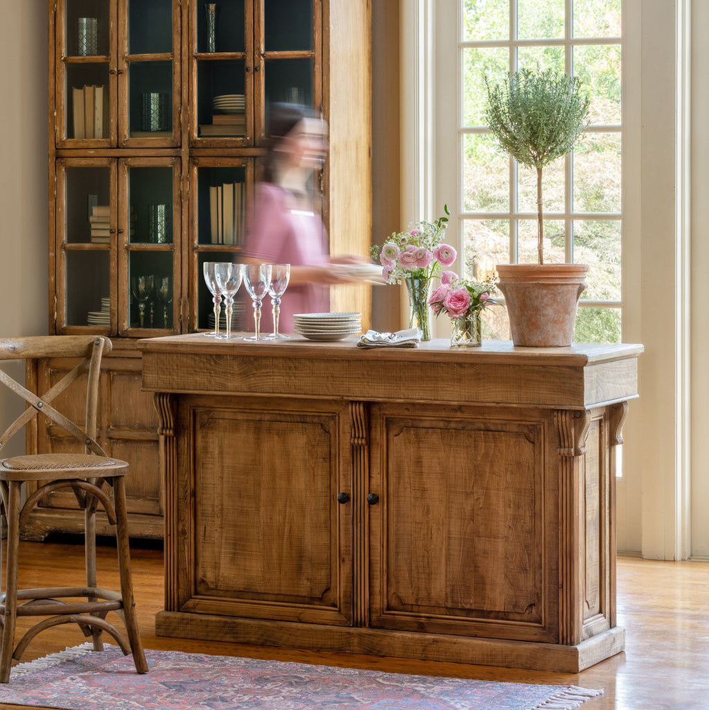 Merchants Counter Colonial House of Flowers Atlanta Plants Vases Containers Florist Weddings Events Georgia Southern South
