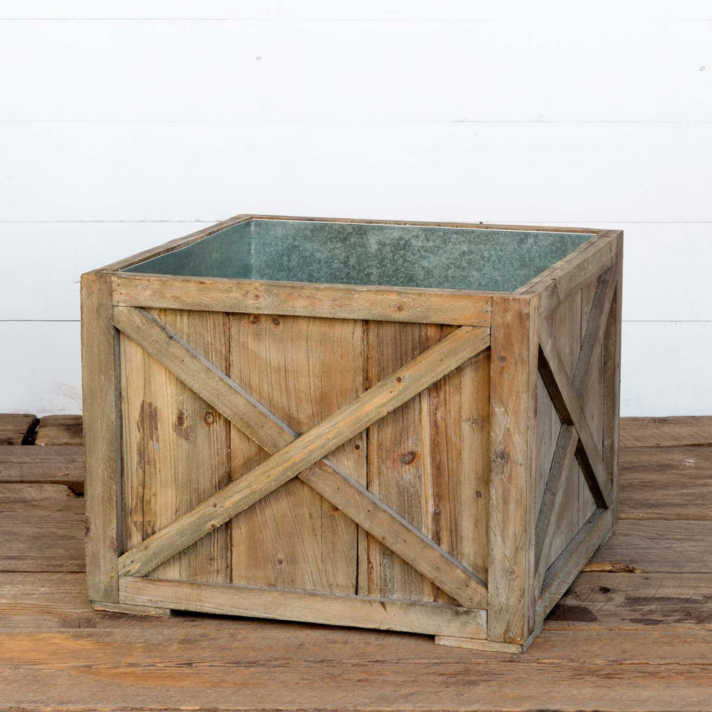 Plantation Wood Tree Box by Park Hill Collection