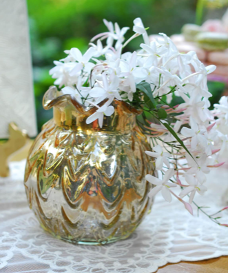Carraway Gold Mercury Glass Collection - Colonial House of Flowers | bespoke floral design + online shop | Atlanta, Georgia