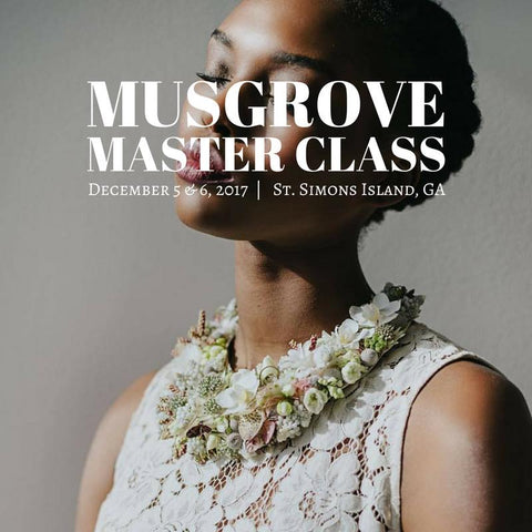 SOLD OUT. December 5 : Master Class At Musgrove With Passionflower - Colonial House of Flowers | The Florist of Statesboro & Georgia Southern