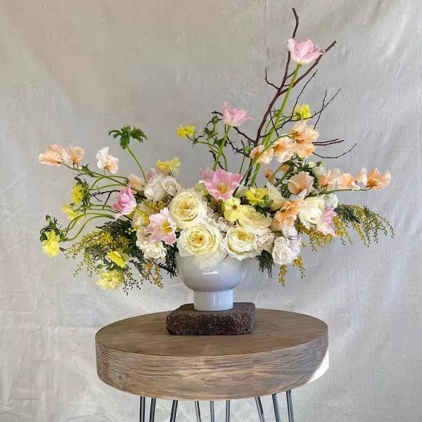 Orion Compote - Colonial House of Flowers | bespoke floral design + online shop | Atlanta, Georgia