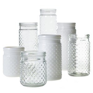 Hobnail Jar Colonial House of Flowers Atlanta Plants Vases Containers Florist Weddings Events Georgia Southern South